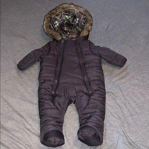 Weatherproof baby snow suit 3-months boys